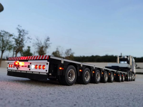 Fury Bear 2+5 tamiya 1/14 low loader trailer tieflader dieplader