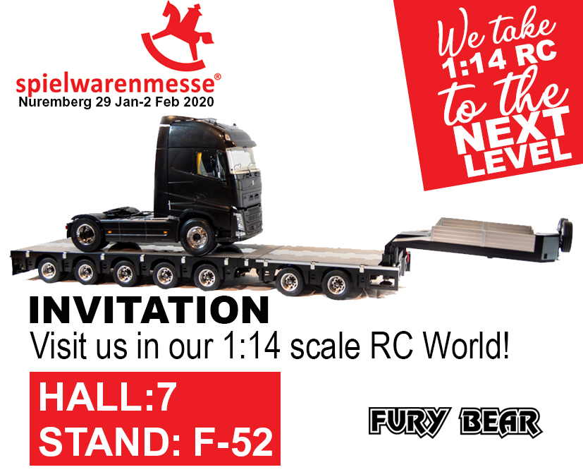 Fury Bear spielwarenmesse