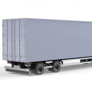 Ekeri 4 axle box trailer